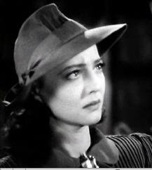 Sylvia Sidney in The Wagons Roll at Night 1941.