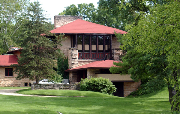 Take an interactive tour of frank lloyd wright 39 s taliesin the snug - Design homes wi ...