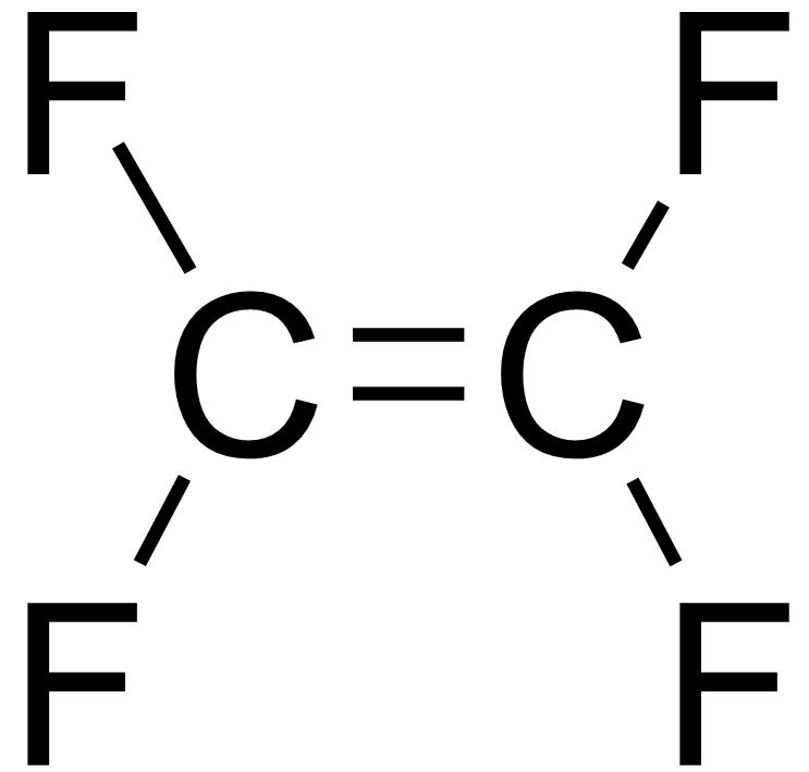 Tetrafluoroethylene Structure File:tetrafluoroethylene2.png ...