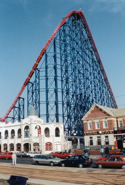 high roller coaster
