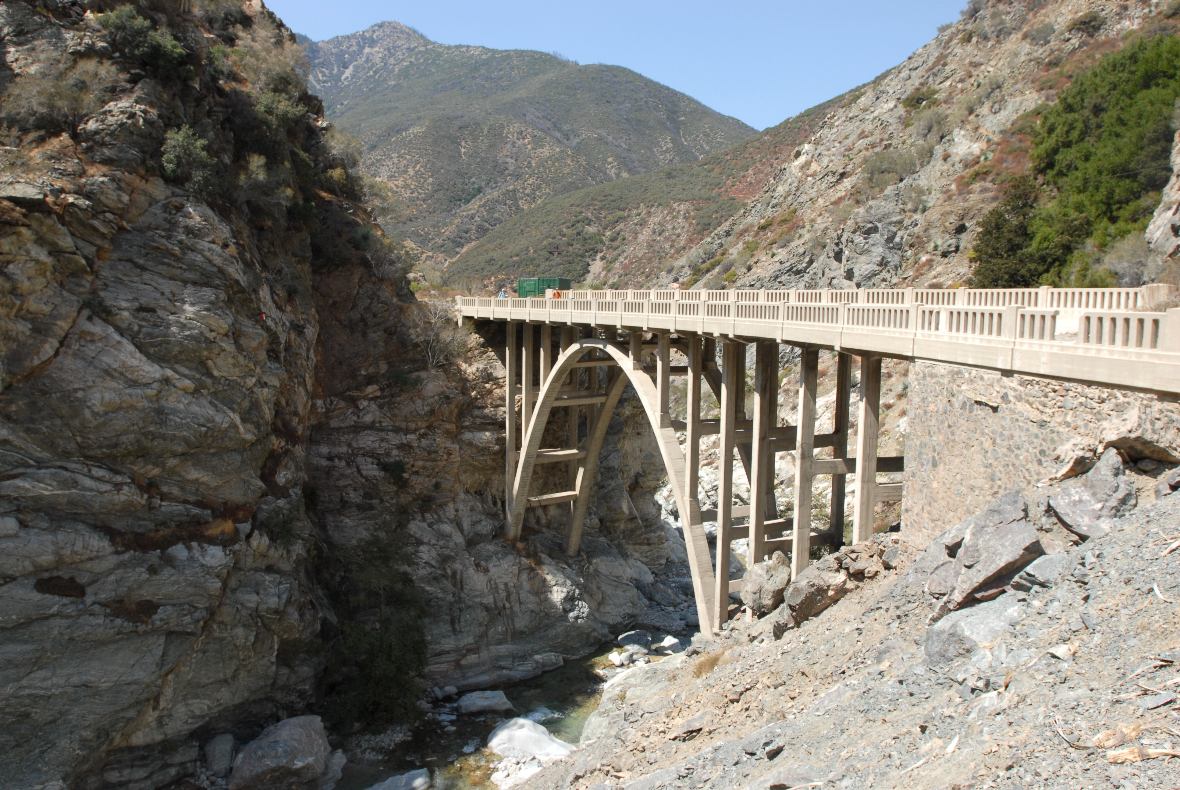 FileThe Bridge to Nowhere San Gabriel Mountains.jpg   Wikimedia ...
