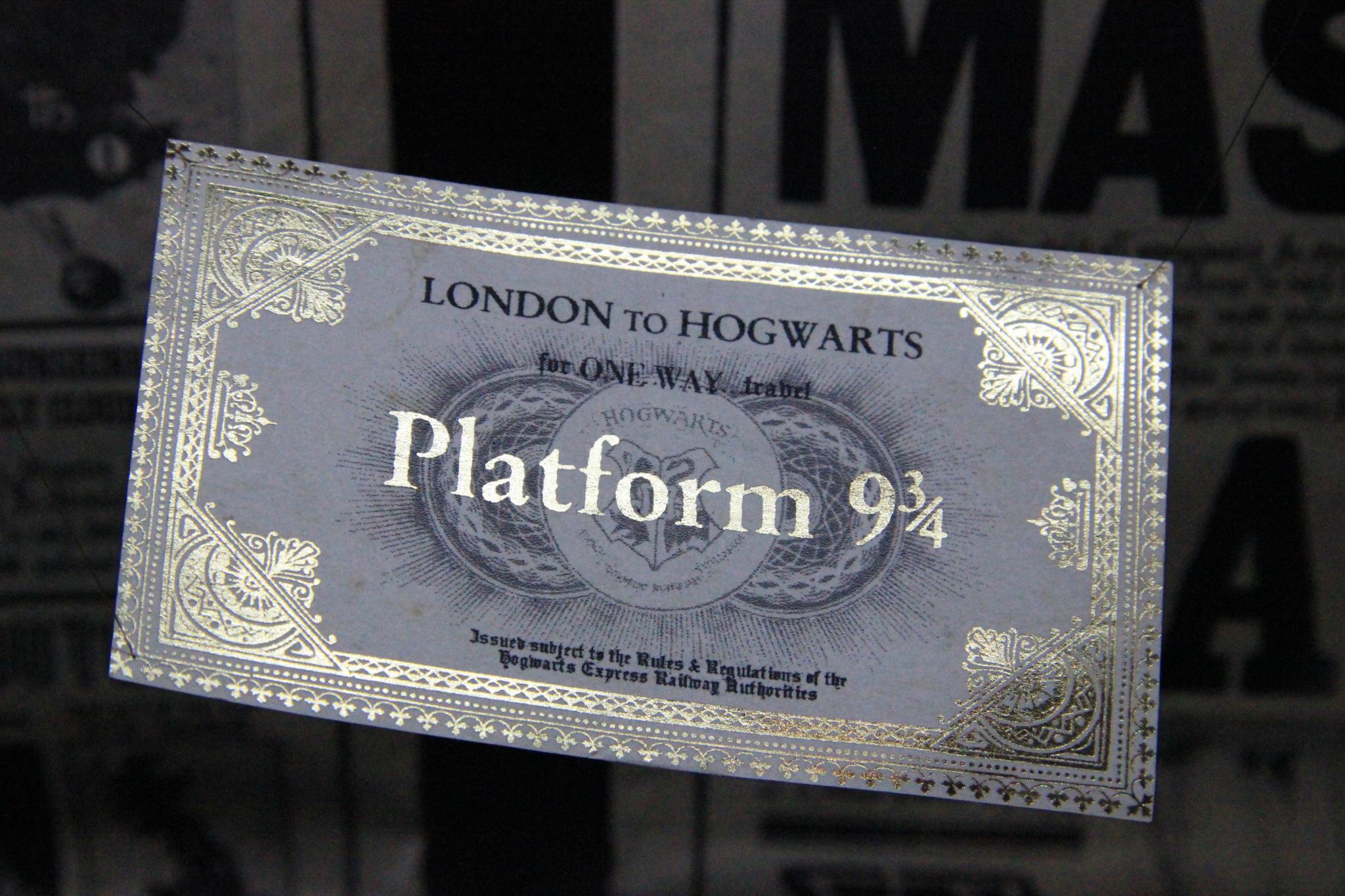 Harry Potter Studio Tour Tickets Resale