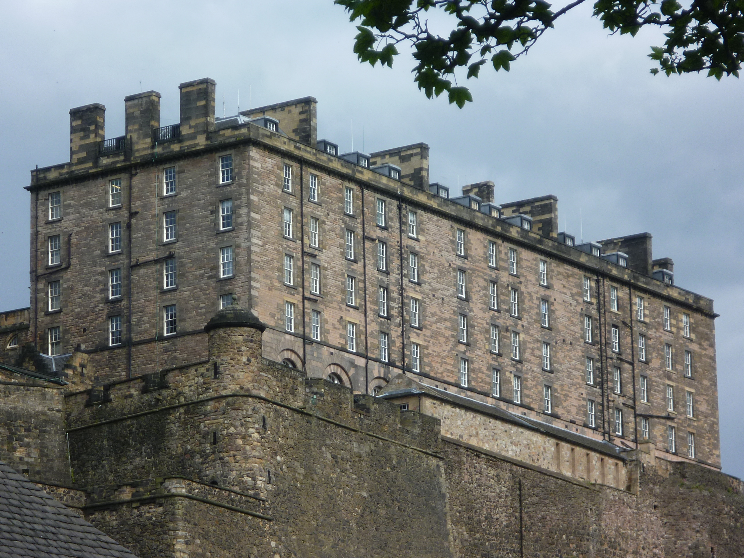 The New Barracks (18thC), Edinburgh Castle.JPG