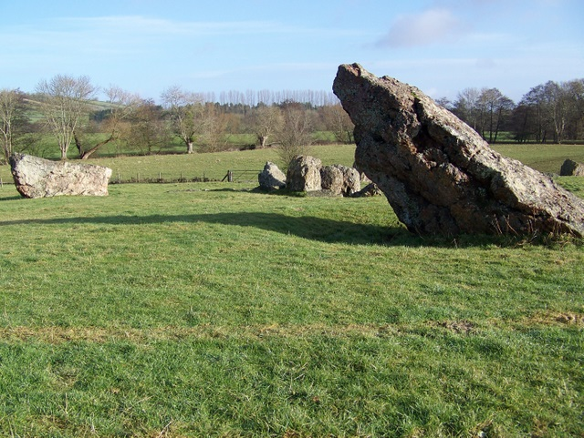 The stones at Stanton Drew - geograph.org.uk - 1670107