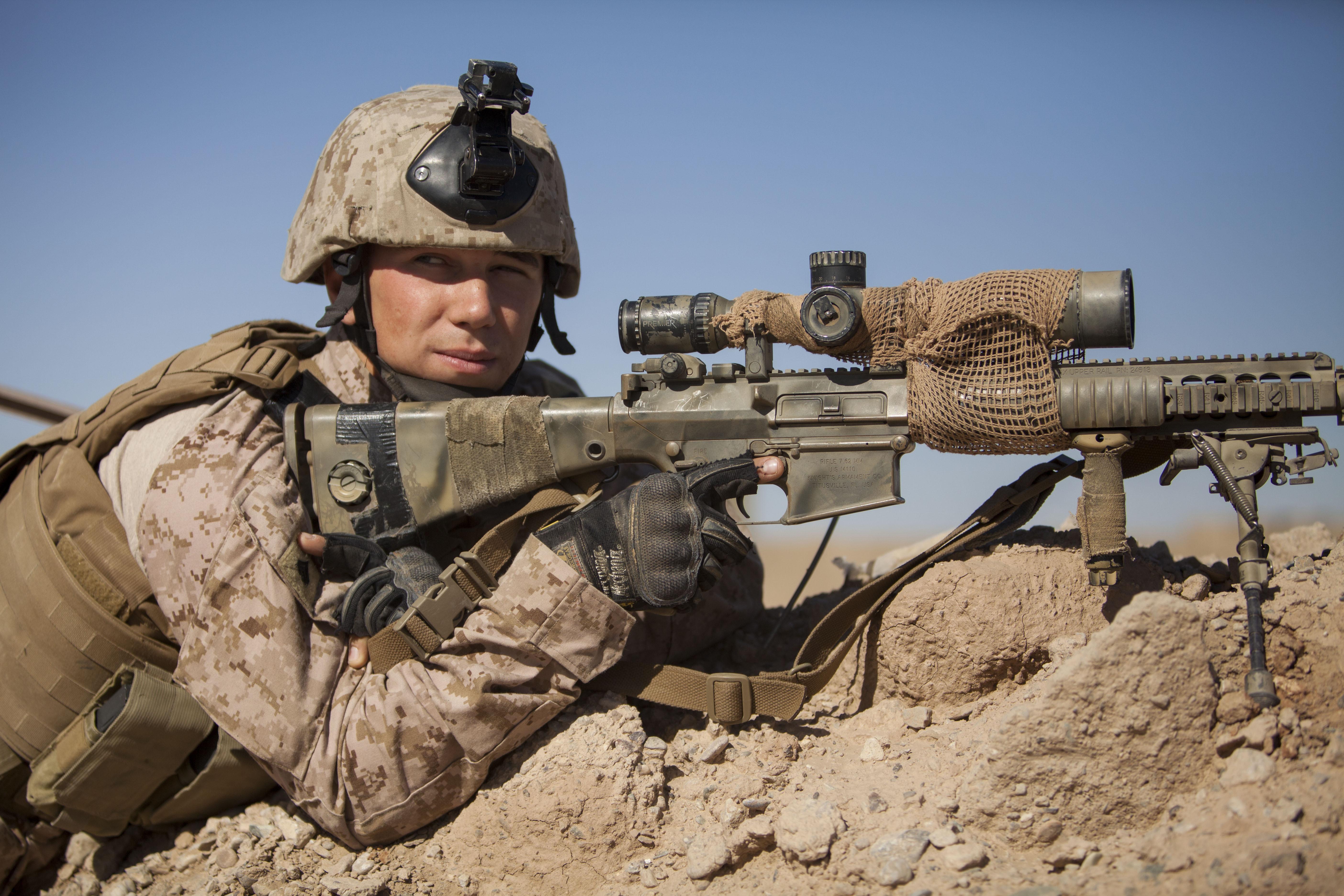 file u s  marine corps cpl  gaven eier  a scout sniper