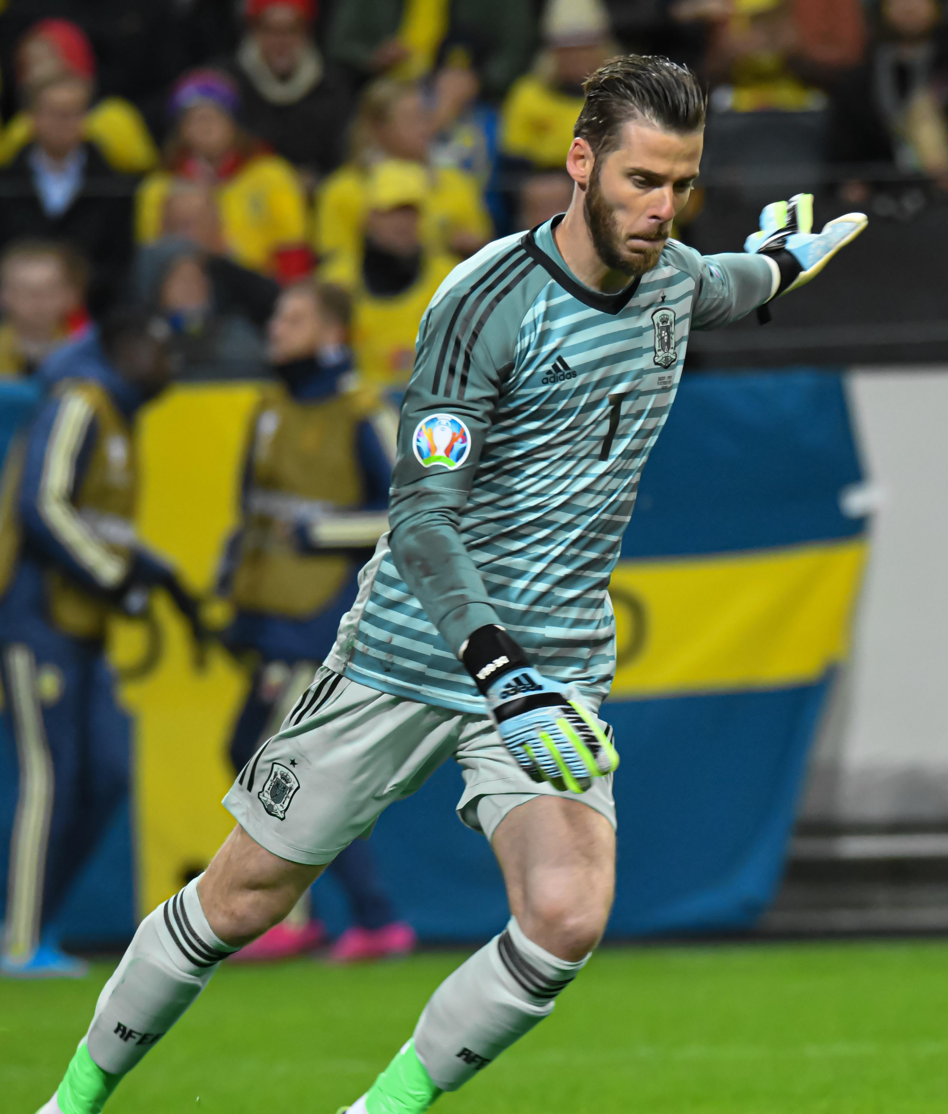 File:UEFA EURO qualifiers Sweden vs Spain 20191015 David de Gea 4.jpg