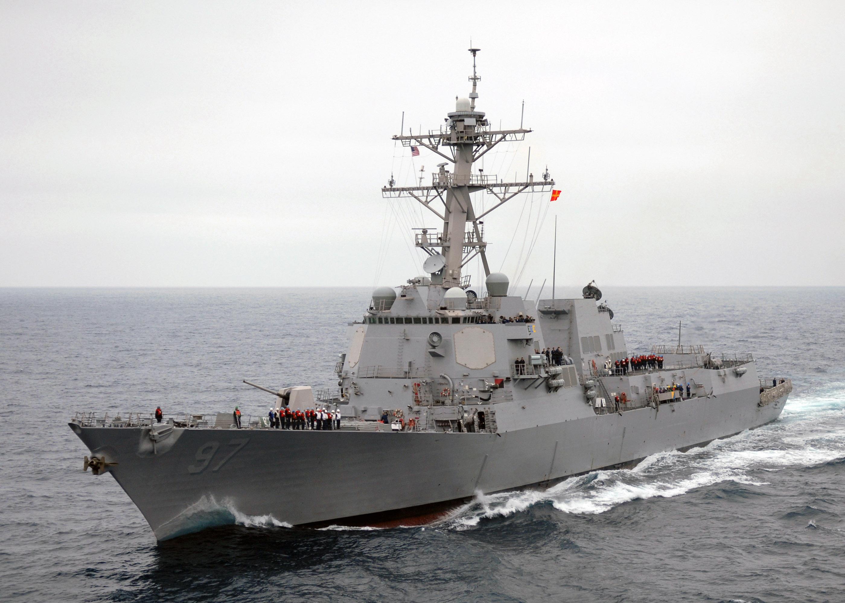 USS Halsey (DDG-97), August 2007