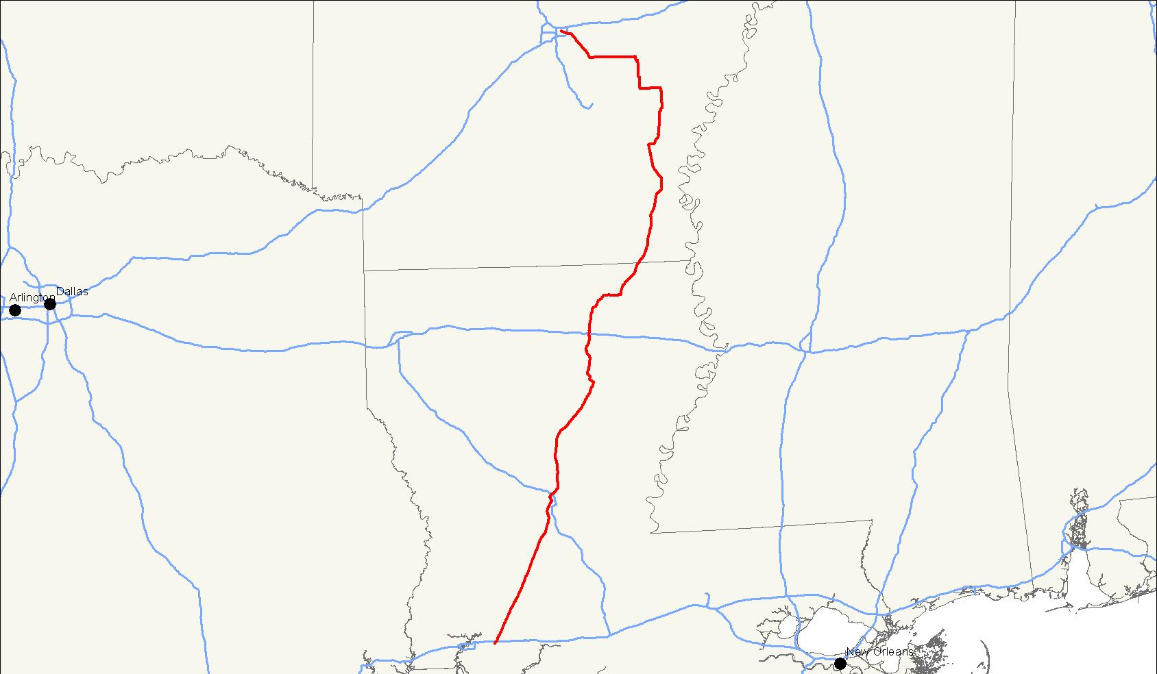 U S Route 165