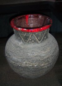 An ancient Armenian urn