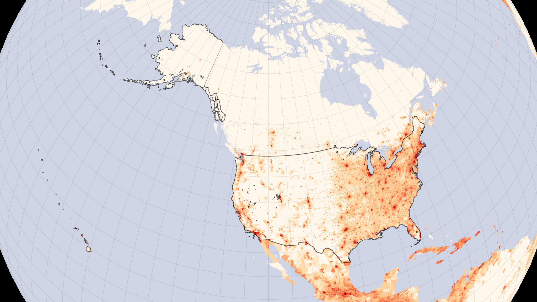 FileUs Population Lrgjpg Wikimedia Commons - Map of us by population