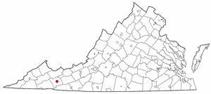 Marion Virginia Map.Battle Of Marion Wikipedia