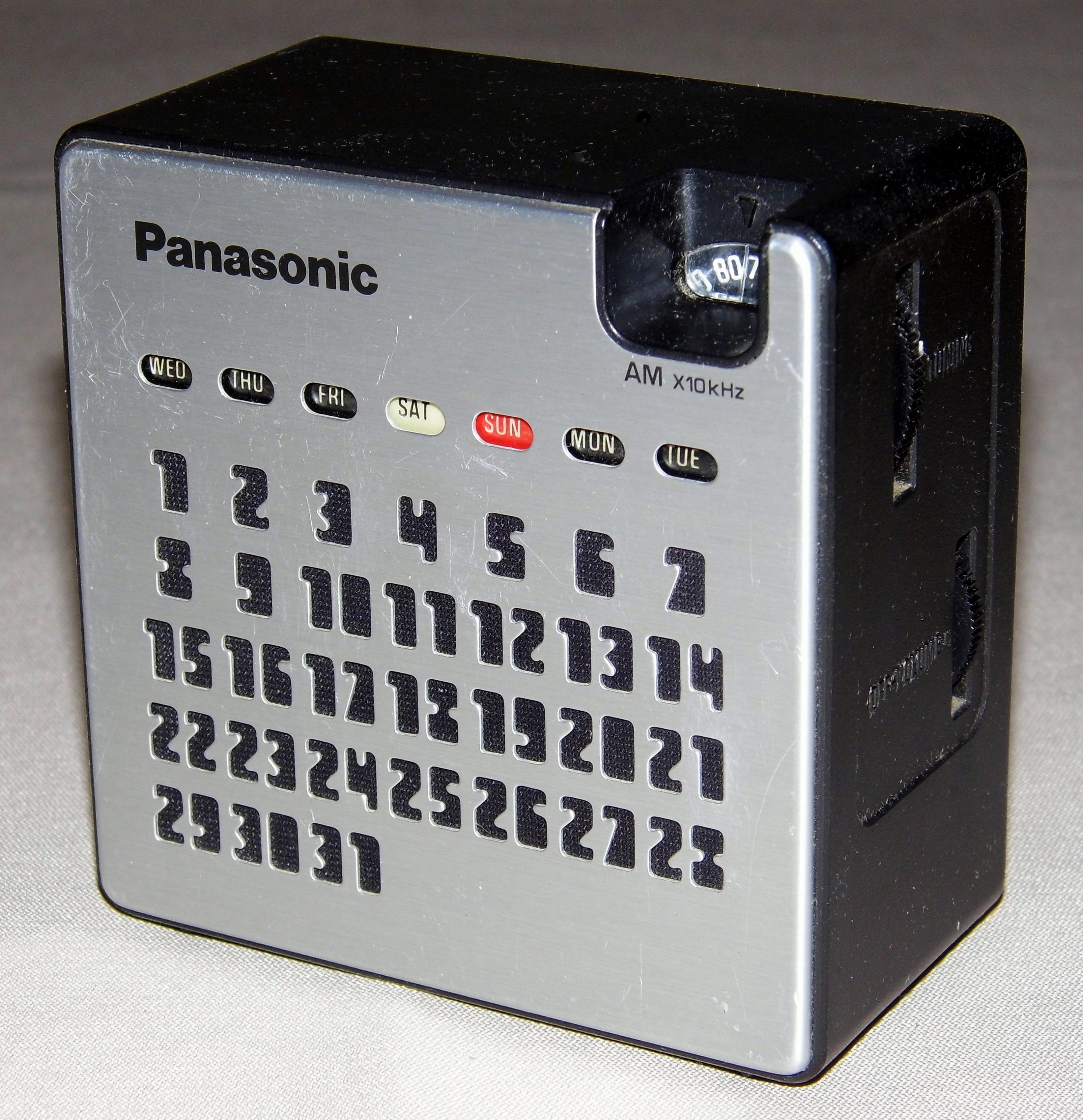 That interfere, vintage panasonic electronics