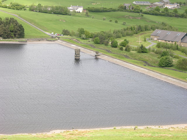 Water Tower Ogden Reservoir - geograph.org.uk - 435260