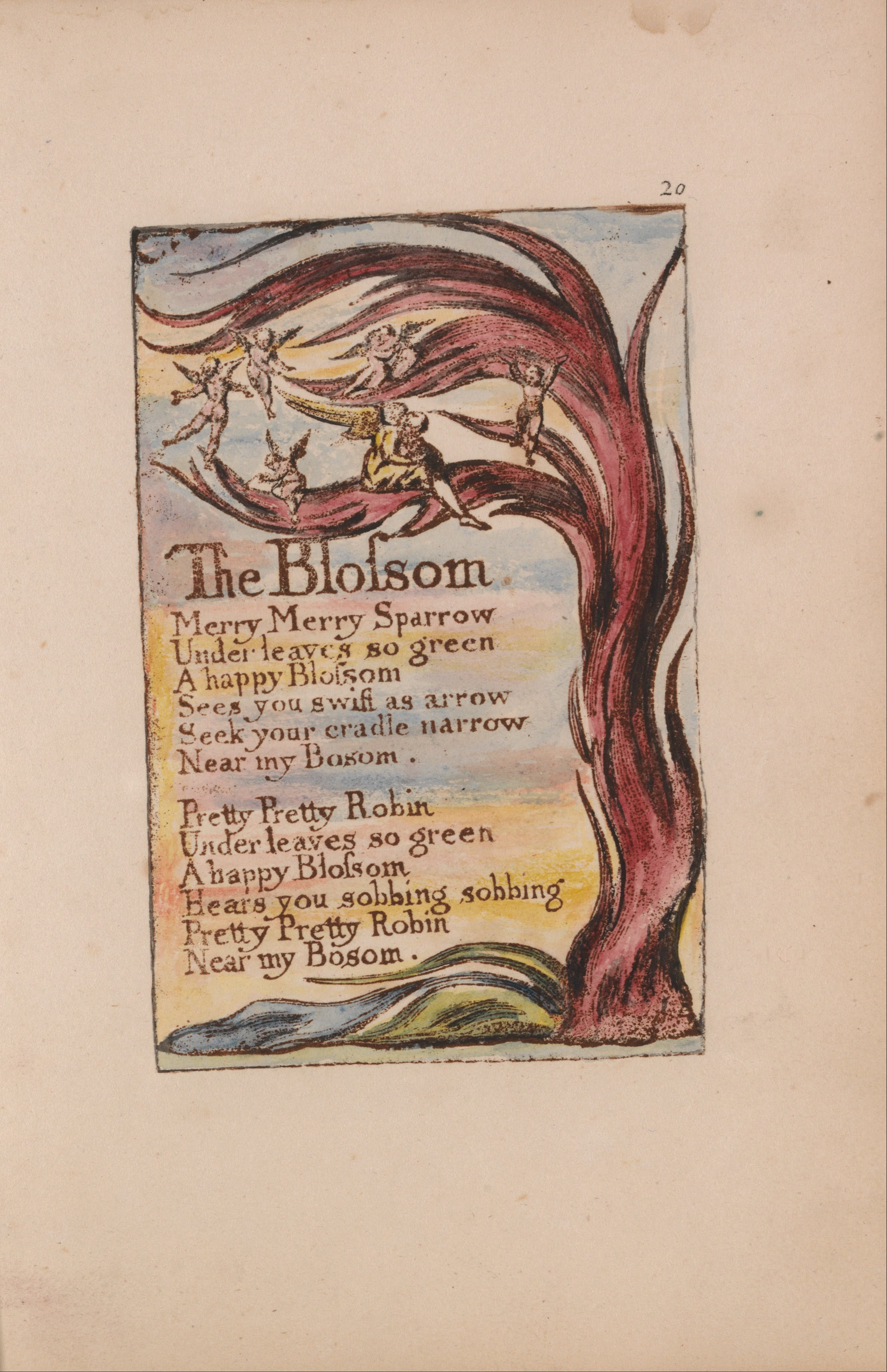 songs of innocence and experience thesis
