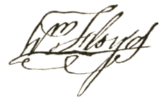 William Floyd Signature
