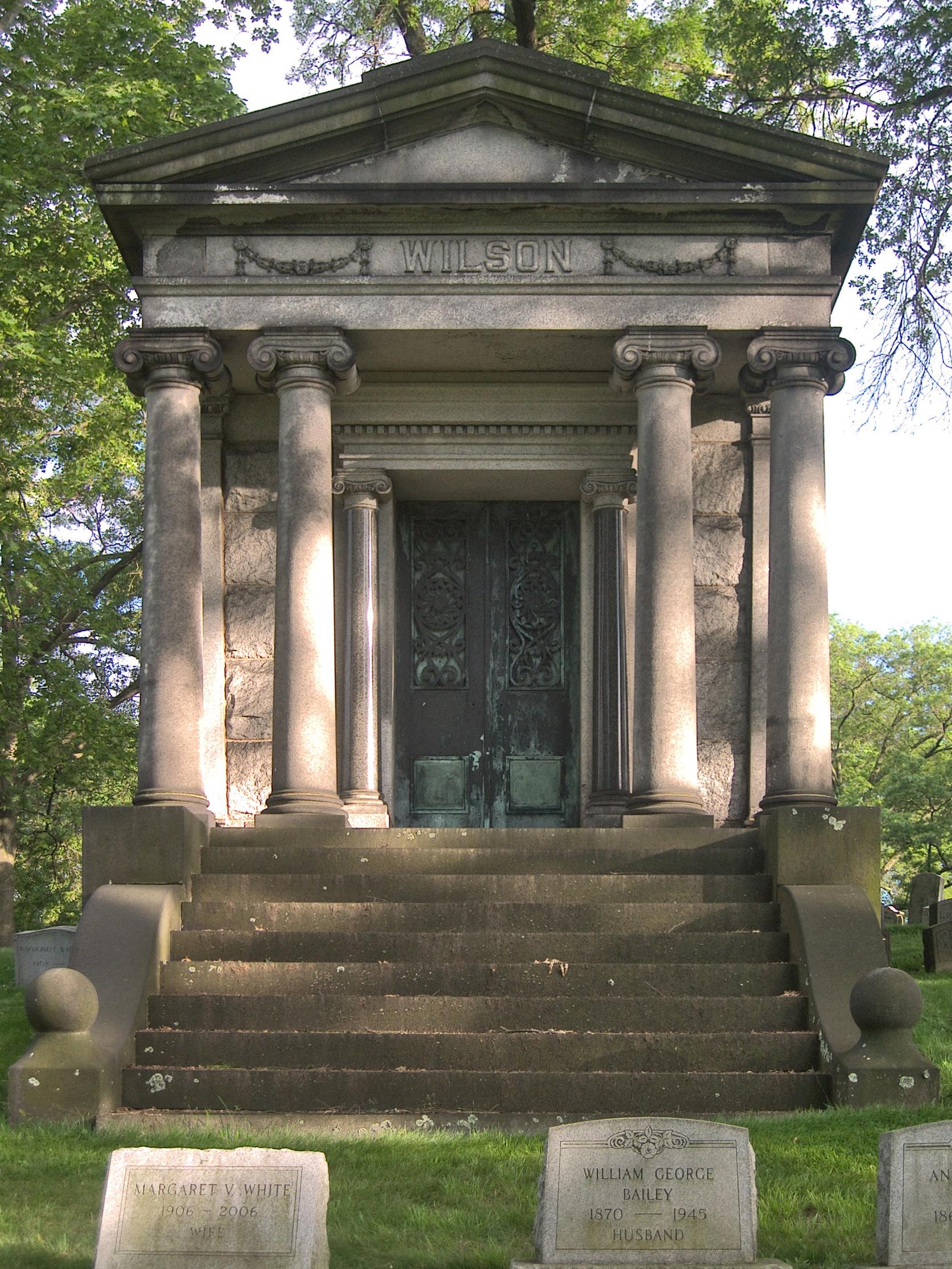 Advertisements & Wilson Mausoleum Union Dale Cemetery | Pittsburgh Cemeteries Pezcame.Com