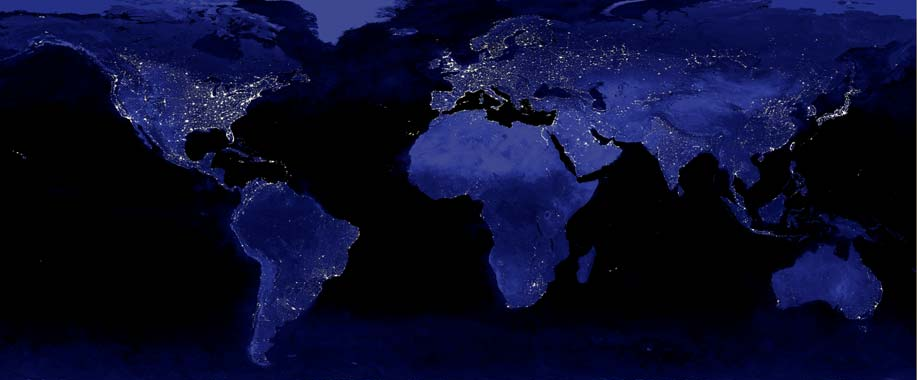 File:World Night Lights Map