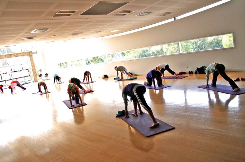 gym yoga: