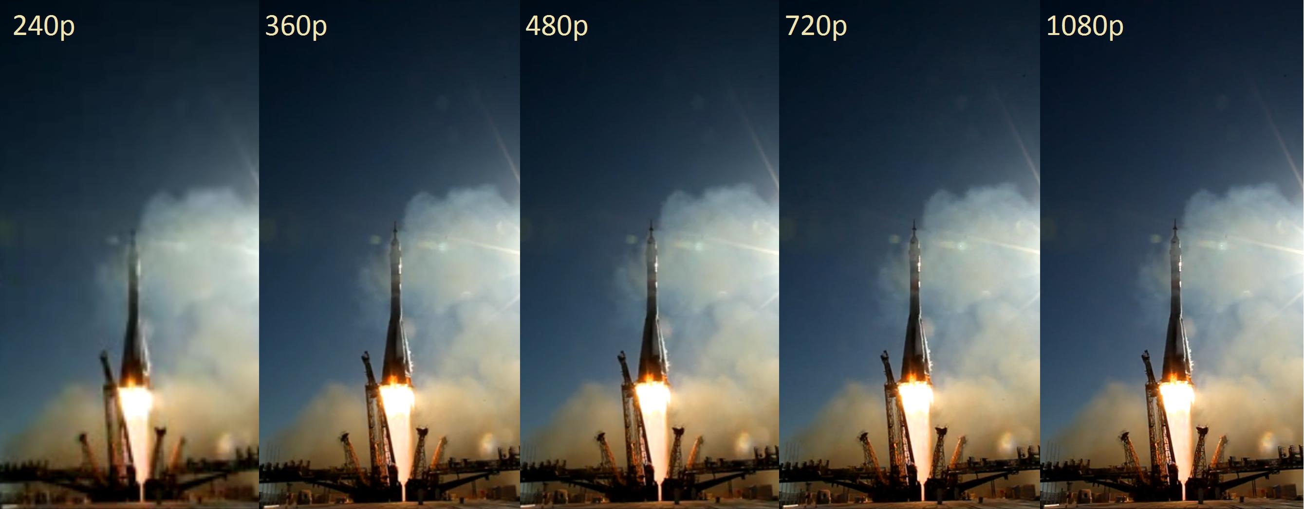 Resultado de imagen para video 1080p comparison