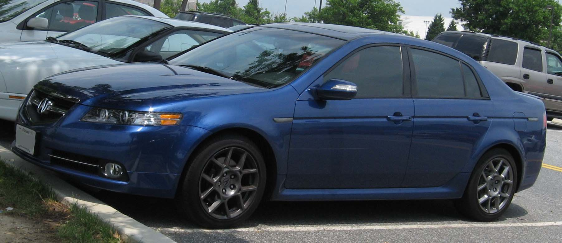 File:07-Acura-TL-S.jpg - Wikimedia Commons