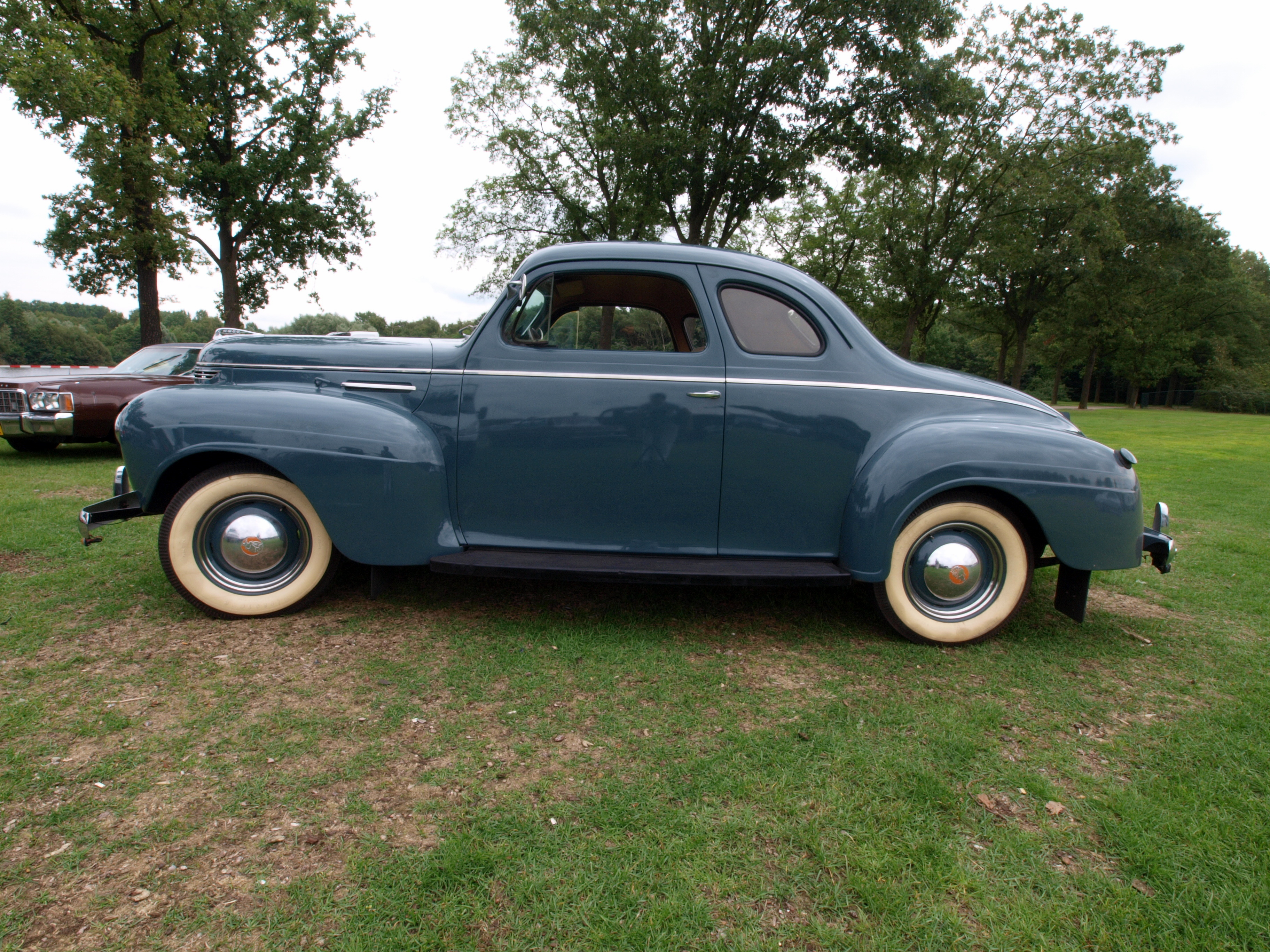 1941 Plymouth Coupe For Salerich With Patina Ford Super Pro Street File D1 P10 Dutch Licence Registration Dl
