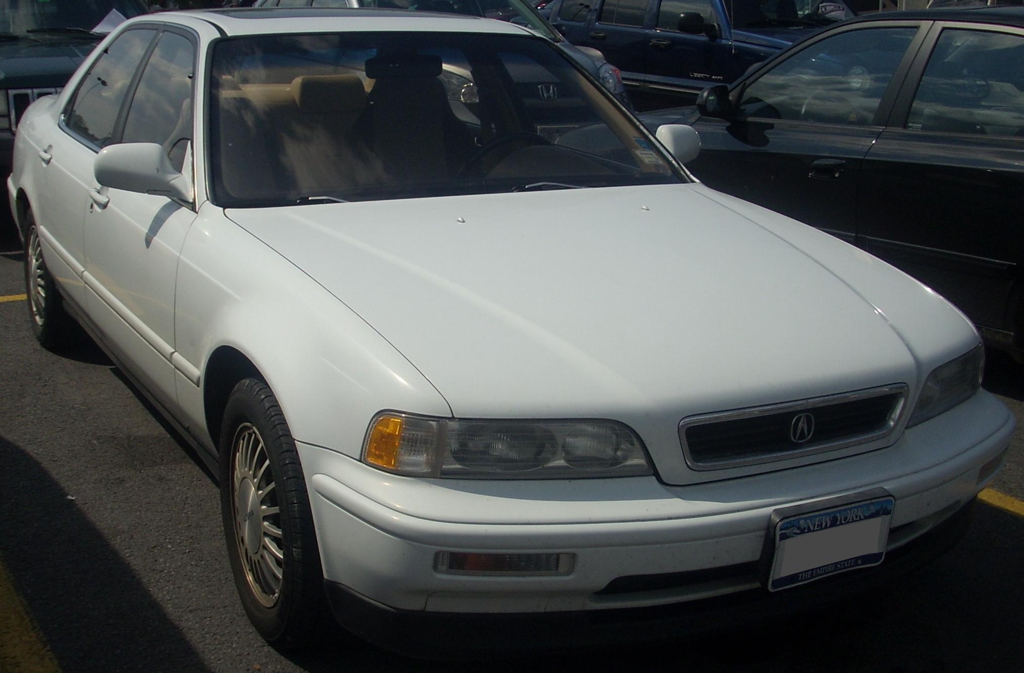 File:1991-93 Acura Legend Sedan.jpg - Wikimedia Commons
