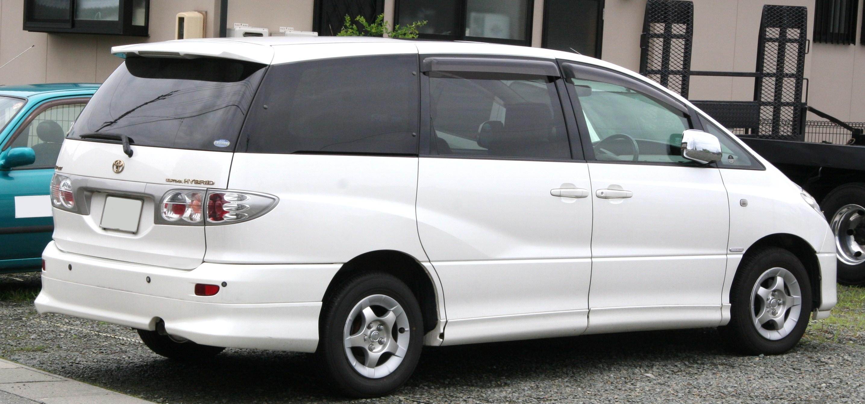 File 2001 2003 Toyota Estima Hybrid Rear Jpg
