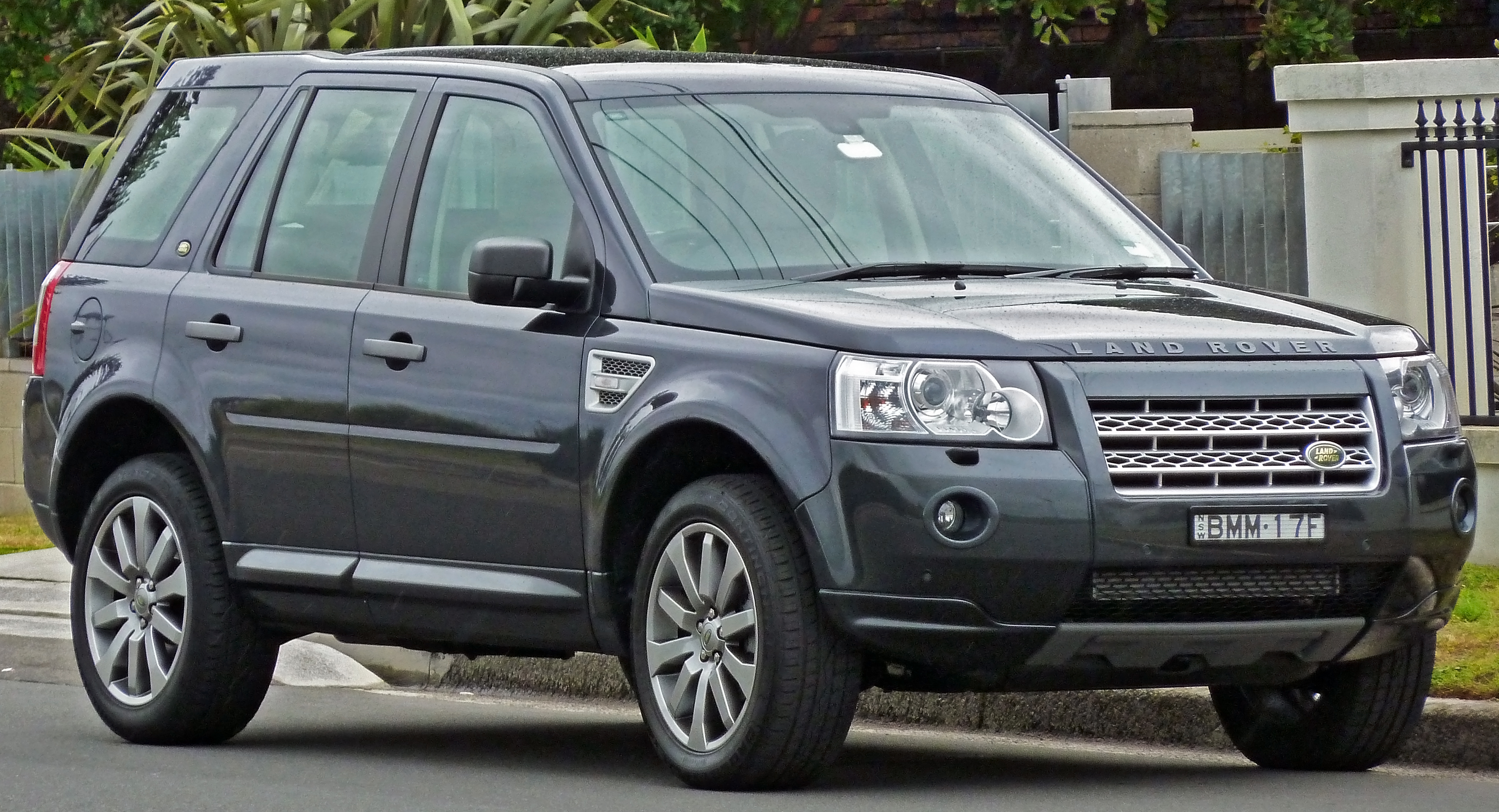 datei 2007 2010 land rover freelander 2 lf hse td4 wagon wikipedia. Black Bedroom Furniture Sets. Home Design Ideas