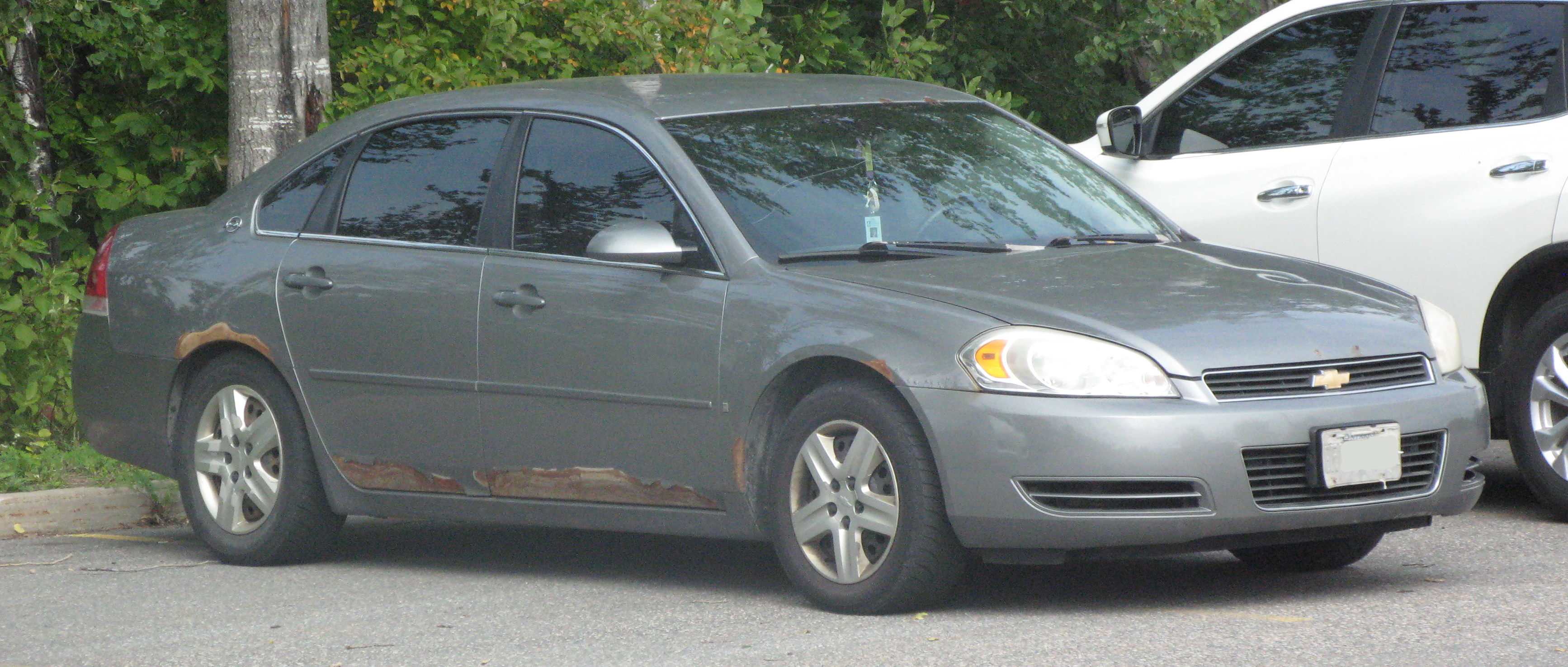 File 2007 Chevrolet Impala Ls Front Right 09 16 2020 Jpg Wikimedia Commons