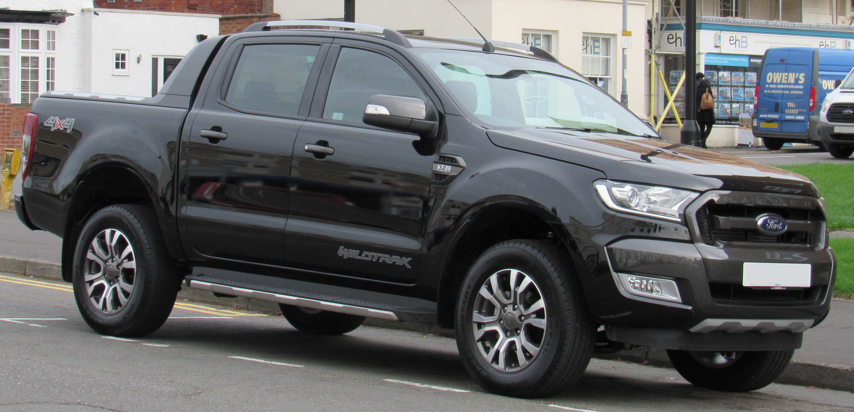 2017 ford ranger wildtrak 4x4 facelift 3 2 front jpg