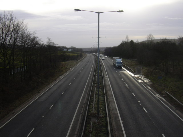 A56 Edenfield Bypass looking South - geograph.org.uk - 1124497