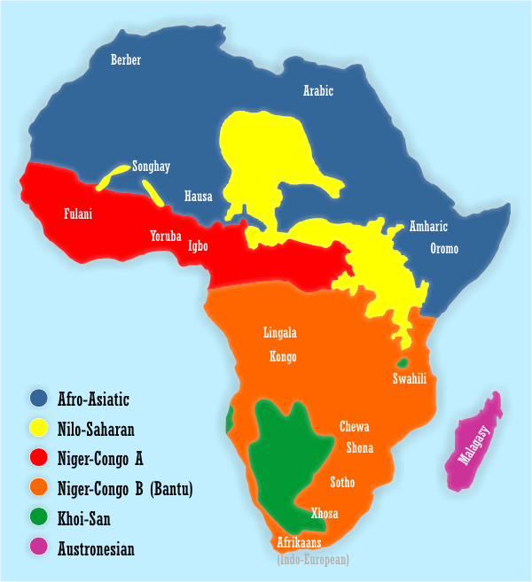 17 Most Commonly Spoken Languages in Africa - #1