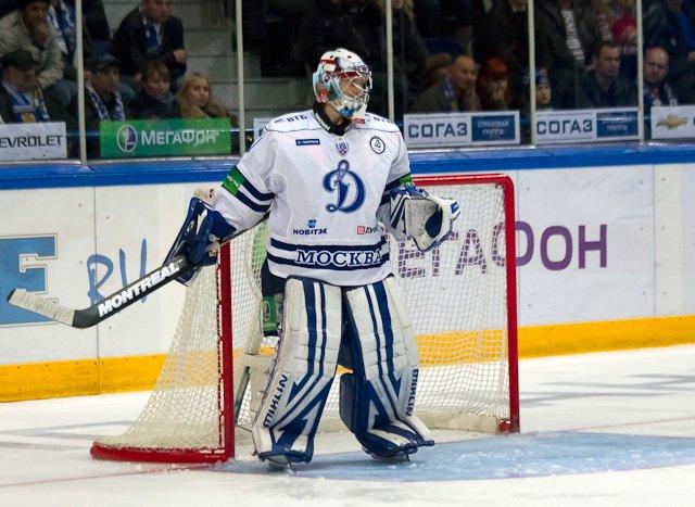 вратарь динамо москва хоккейный клуб