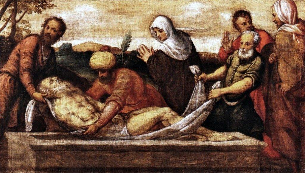 Sepoltura di sant'Andrea
