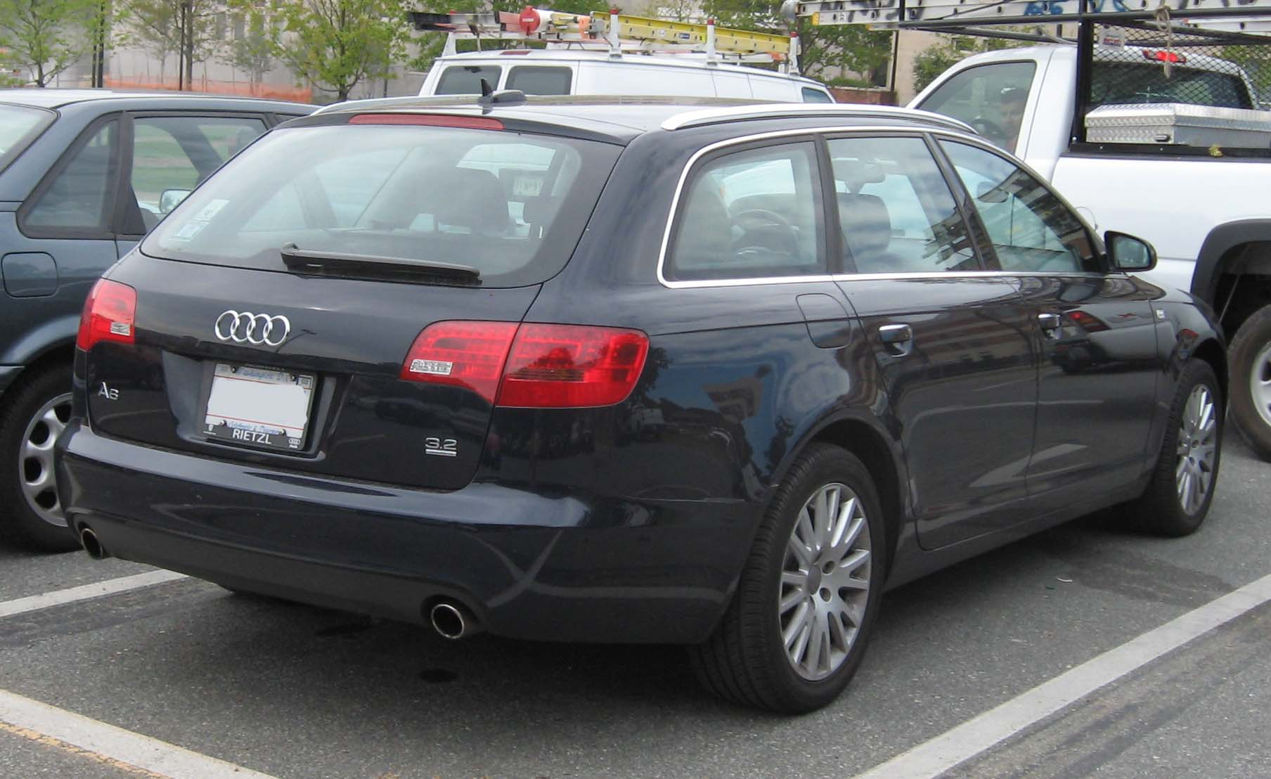 File Audi A6 Wagon Jpg Wikimedia Commons