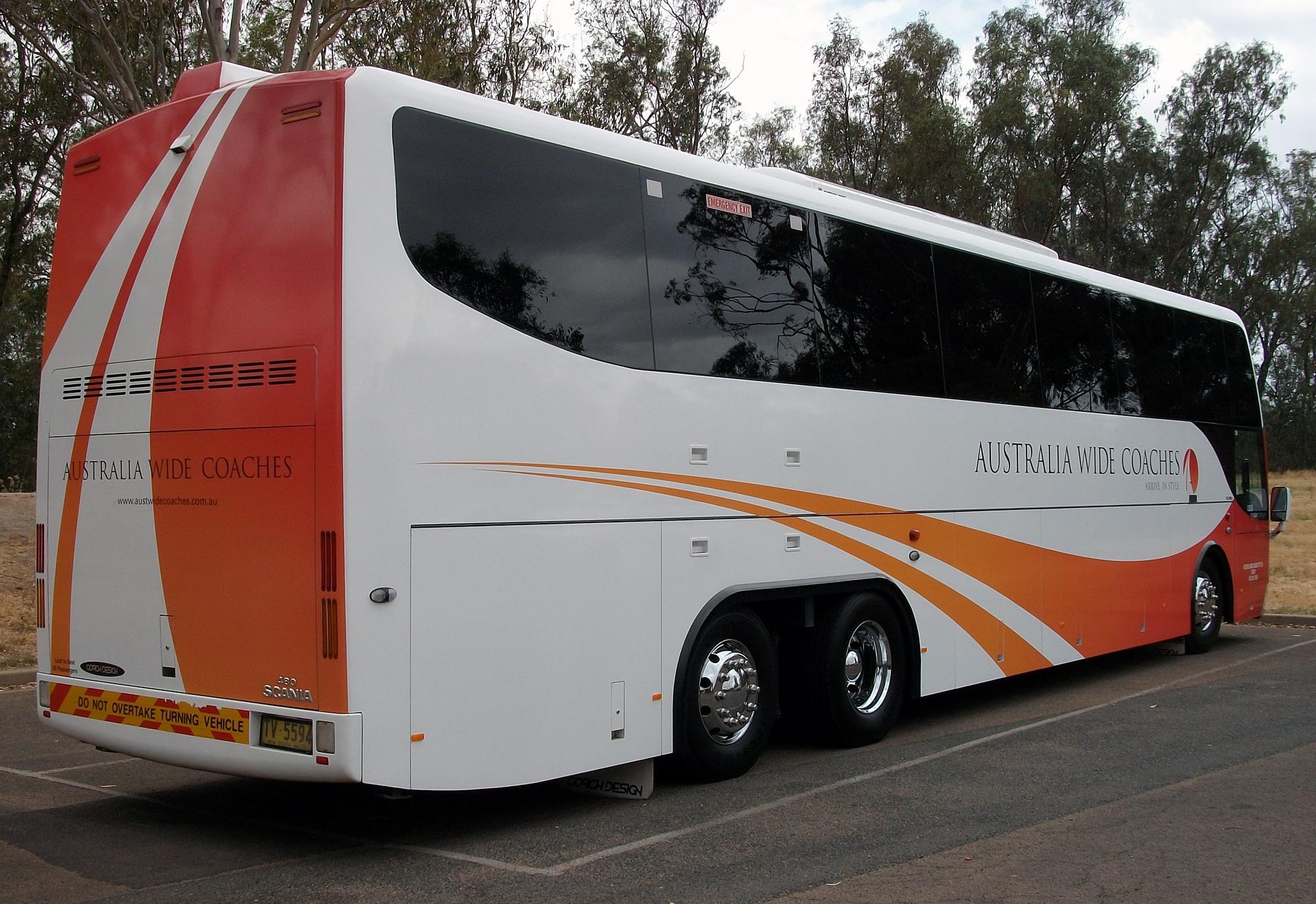 File:Australia Wide Coaches - Coach Design bodied Scania K480EB Opticruise - TV 5594 01