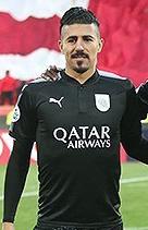 Baghdad Bounedjah Algerian professional footballer