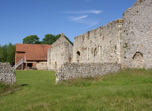 Bakehouse, Bishop's Palace, Bishops Waltham - geograph.org.uk - 457949