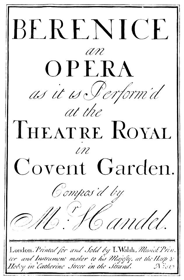Berenice (Oper) – Wikipedia
