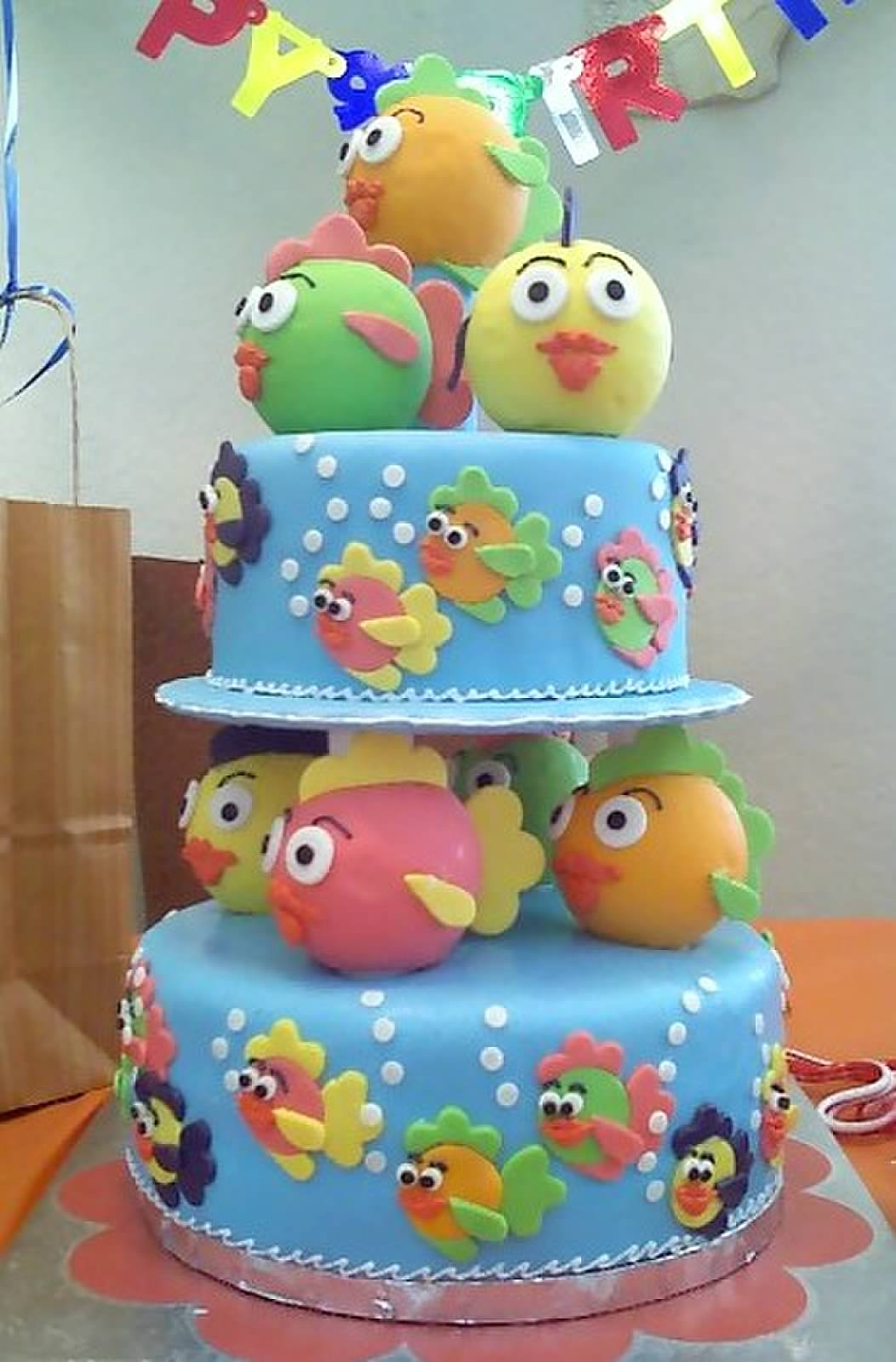 Cake 1 Year Old Birthday : File:Birthday cake for one-year old.jpg - Wikipedia
