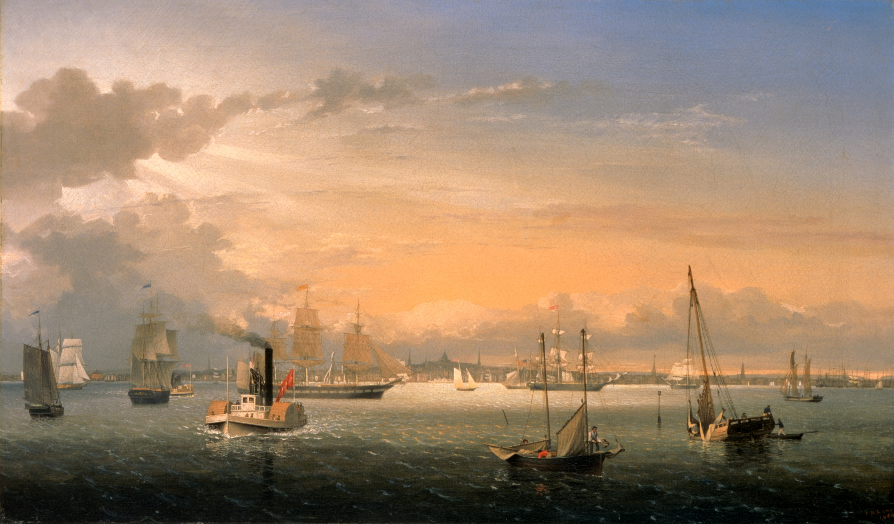 Painting Of Boston For Sale