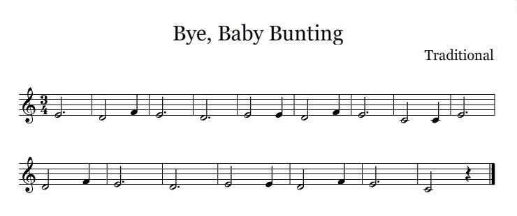Bye Baby Bunting Wikipedia