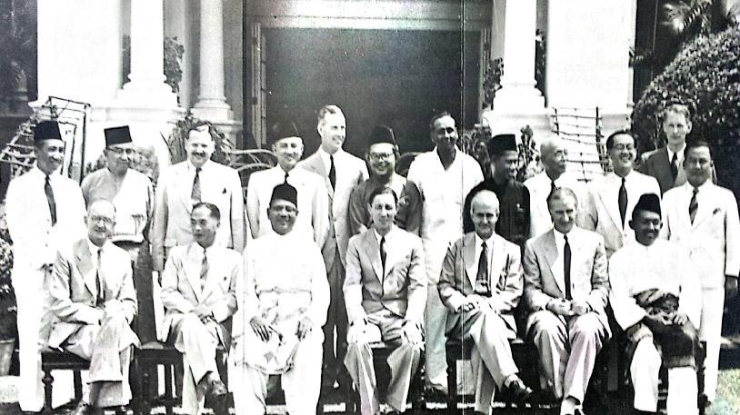 Cabinet of Malaya, 1955.jpg
