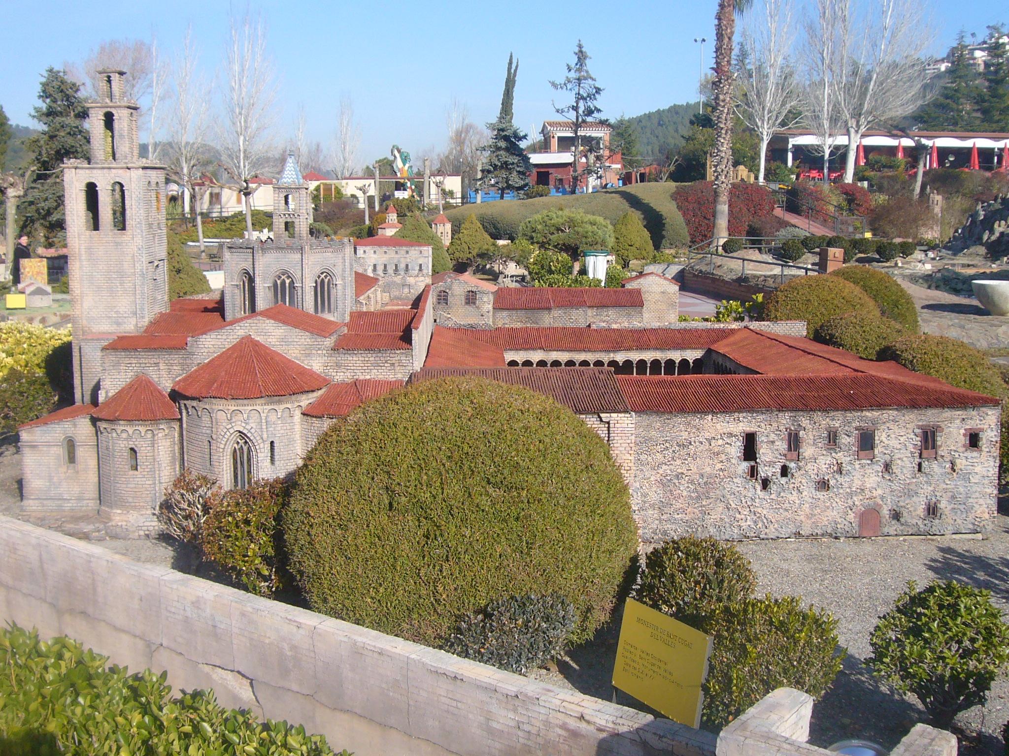 File catalunya en miniatura monestir de sant cugat del - Mudanzas sant cugat del valles ...