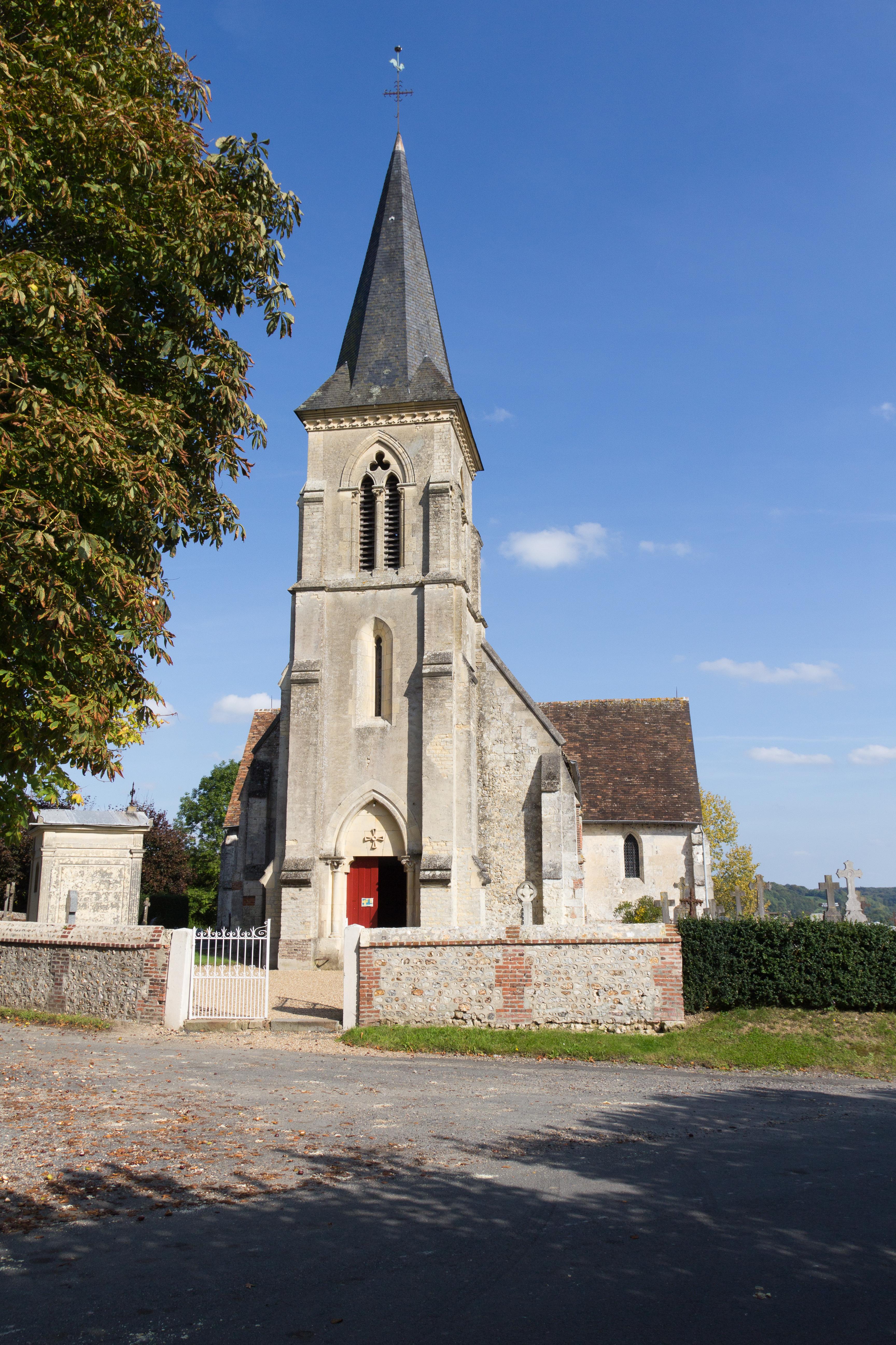 Narbonne Version 3 1: File:Clocher De L'église Saint-Denis (Pierrefitte-en-Auge