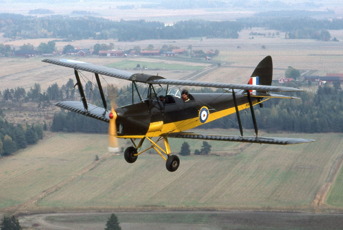 Image result for tiger moth plane