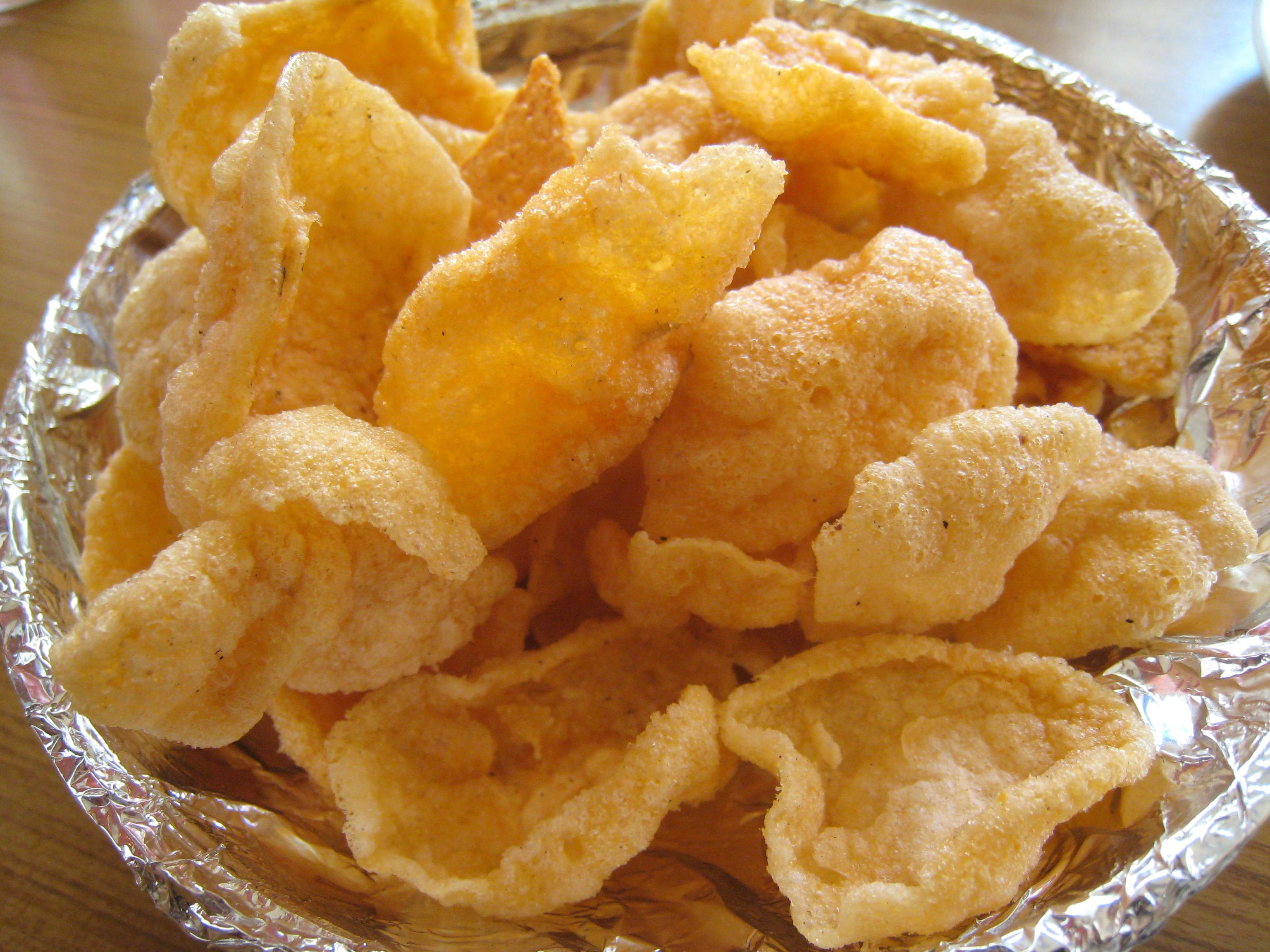 File:Deep fried rice Papad jpg - Wikimedia Commons