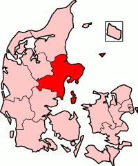 county of Denmark 1970-2006
