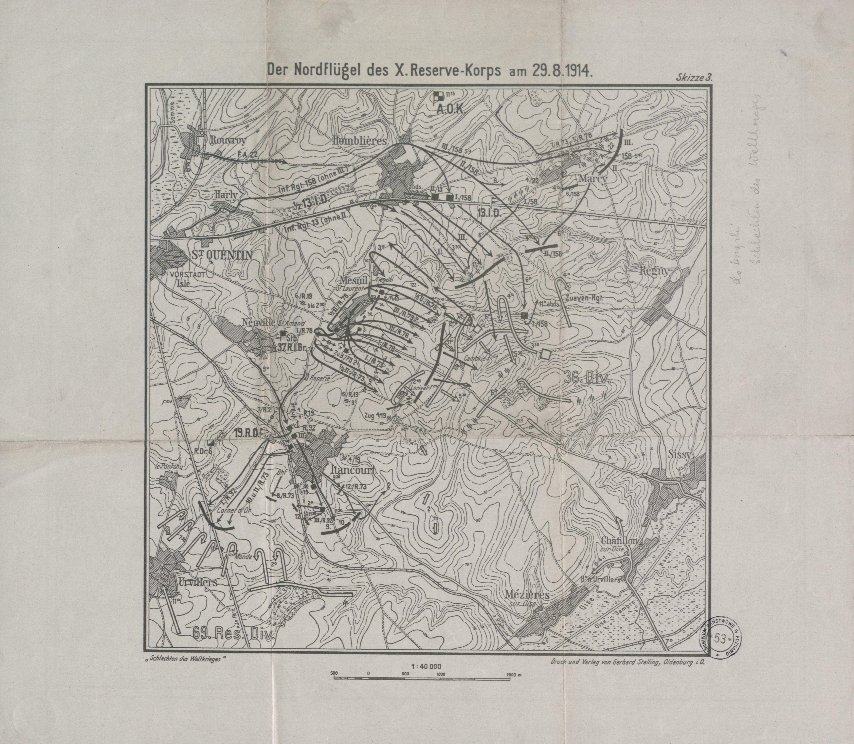 File:Der Nordflugel des X.Reserve-Korps am 29.8.1914.jpg - Wikimedia ...