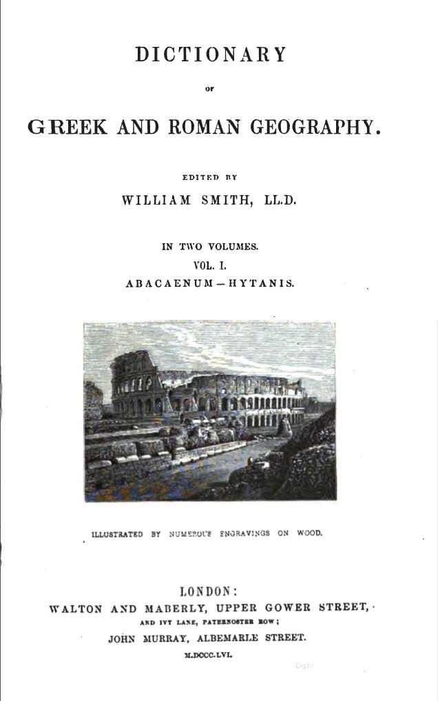 File:Dictionary of Greek and Roman Geography vol 1.jpg - Wikipedia ...